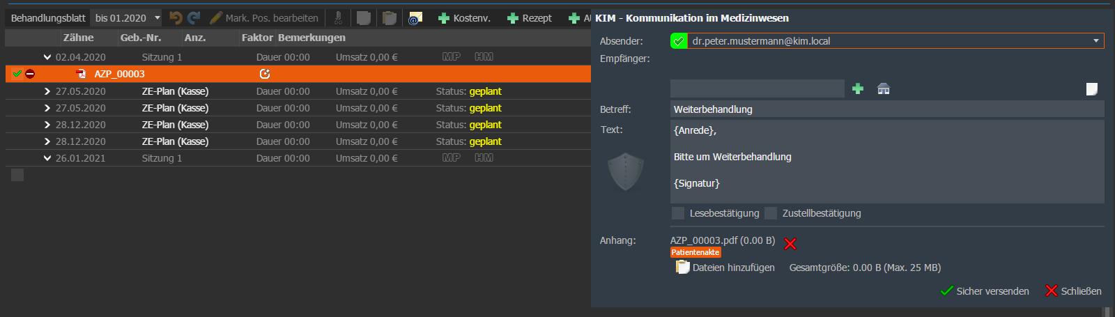 VISInext KIM-Modul der BDV GmbH - Telematikinfrastruktur
