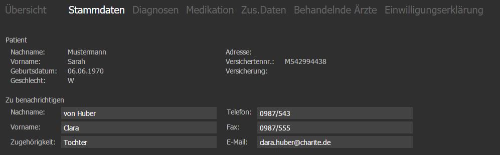 VISInext NFDM-Modul der BDV GmbH - Telematikinfrastruktur