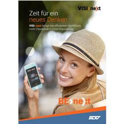 Zahnarzt-Software; zahnarztsoftware; zahnarzt software; praxismanagement software; VISInext; BDV GmbH; VISInext Prospekt - BDV GmbH