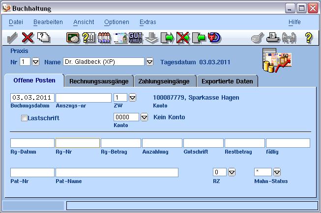 Verwaltung Zahnarztpraxis VISIdent - BDV Branchen-Daten-Verarbeitung