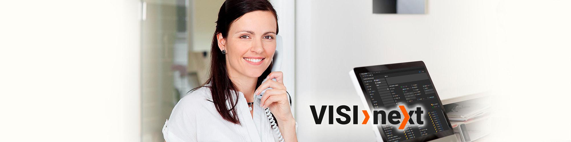 Slider Praxismanager Mitarbeiterverwaltung - VISInext BDV GmbH
