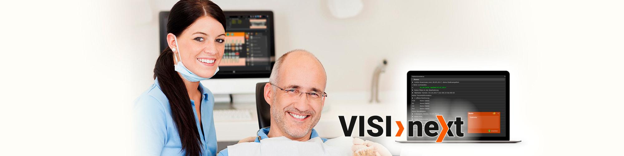 Slider ZFA Patientenstatus - VISInext BDV GmbH