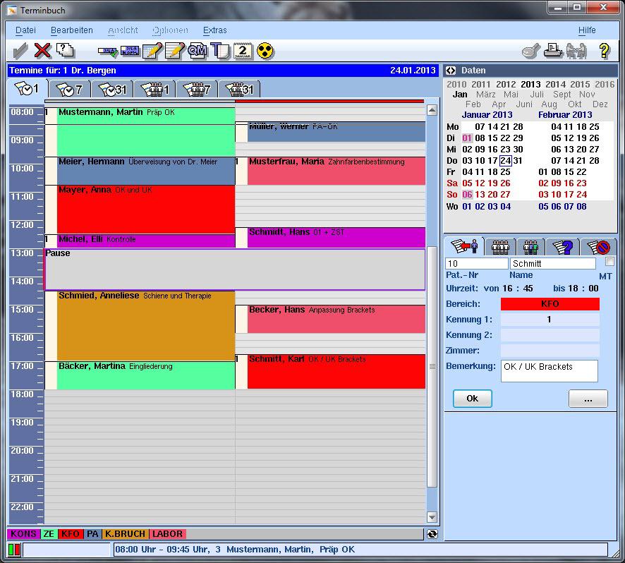Terminbuch VISIdent Advanced - BDV Branchen-Daten-Verarbeitung