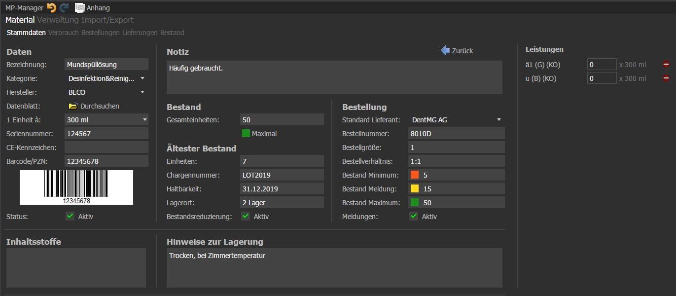 VISInext MP Manager der BDV GmbH - alle Produkt- und Lieferdaten im Blick